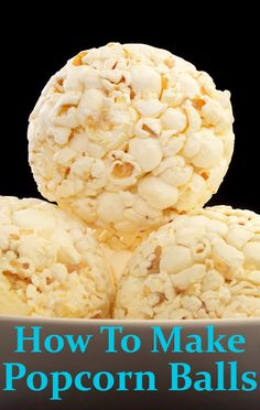 Carla Hall's popcorn ball recipe adds chocolate and marshmallows into the mix, making it a hit with the kids.