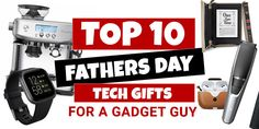 Top 10 Father's Day Gifts for a Gadget Guy 2020 - bay 93.9 Geelong Book Spine, Great Father's Day Gifts, Led Panel Light, Tech Gifts, Fathers Day Gifts, Gadgets, Guys, Top, Gadget