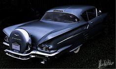1958 Chevrolet Impala 2dr   by ~comet166 on deviantART