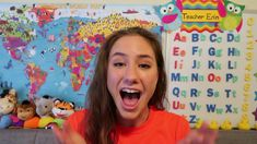 """Here is my VIPKID Teacher Erin intro video! I try and show parents what my teaching will be like inside the classroom. :D """"ROADMAP TO VIPKID"""" . Student Teaching, Teaching Tools, Teaching Ideas, Teacher Introduction, Entrepreneur, Vip Kid, Classroom Background, Teaching English Online, Class Teacher"""