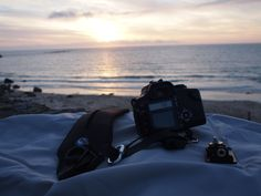 As well as some cool camera accessories, a beautiful sunset and ocean - somewhere in the UK. Get one of our large wraps for keeping your camera gear safe AND for guaranteeing great sunsets where ever you go from Amazon