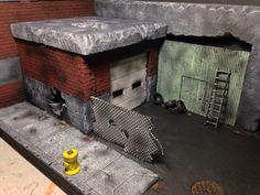 Minimates Garage Diorama.