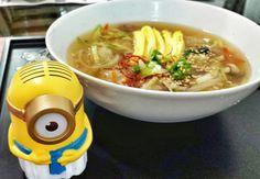 옹심이 Onsimi, massa de batata com caldo. Daqui a pouco compartilho video de receitas.
