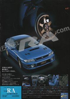 nice MY900 Impreza WRX Limited Brochure