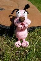 Кураж - трусливый пёс