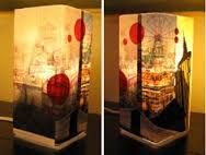 Image result for mosaic lamp