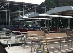 Pontoon Boats | Solid Craft Boats Slide Design, Deck Design, Pontoon Seats, Party Barge, Aluminum Decking, Cruise Boat, Unique Flooring, Double Deck, Outdoor Furniture Sets