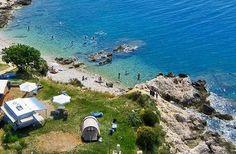 Campingplatz Marina - das Luftbild