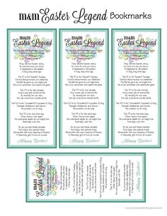 Teaching integrity easter jelly bean poem spring has sprung freebie easter mm poem printable scribd negle Images