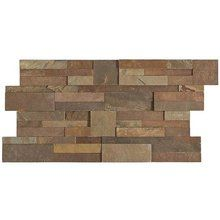 View the Daltile S318-716STACK1T Stacked Stone Dynasty Mountain Natural Cleft Un-gauged Stone Wall Tile at Floormall.com.