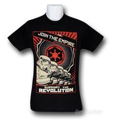 #StarWars Empire Revolution T-Shirt - $20