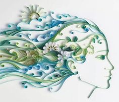 Unique Paper Art, Craft Ideas and Quilling Designs from Yulia Brodskaya