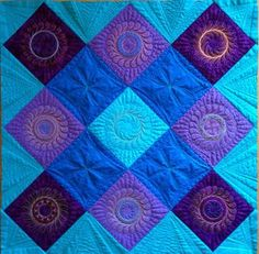 Class Review: Craftsy's Class Called Machine Quilting with Rulers on a Home Machine by Amy Johnson