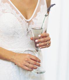 cocktails, A Modern Industrial Wedding
