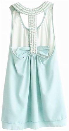 Pretty Pearl Racer Back Dress