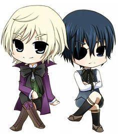 Black Butler | Alois and Ciel