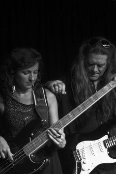 Michael Katon & his bass guitarist The Meeting Room 8.6.13