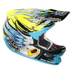 Troy Lee Designs D3 Bicycle Helmets Speedwing (CLOSEOUT) - Extreme Supply