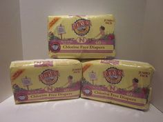 Earths Best Chlorine-Free Diapers, Size N, 40 Count - Pack of 3 120 Total #EarthsBest