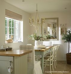 Our economical hand painted bespoke kitchen | Natural Calico