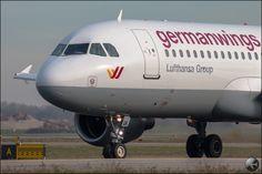 Germanwingsi Aircraft at Bologna Airport - Italy #airplanes #spotting #aviation #aircrafts #airplane #aircraft #aerei