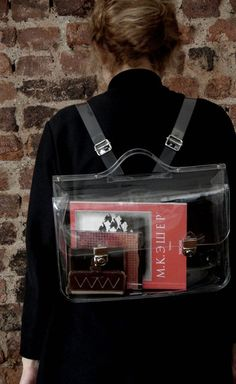 Transparent Trends - Ghost Bag No1 ($80.00) - Svpply...interesting....