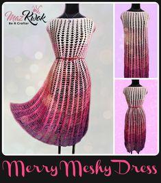 crochet lacy dress