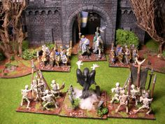 28mm Hordes of the Things Bretonnians