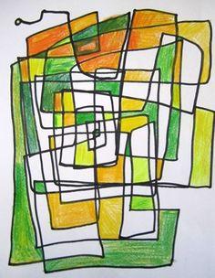 Owen973's art on Artsonia All One Line