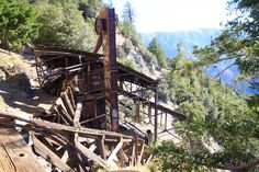 This old abandoned mine is a great place for a hike. At about 5 miles roundtrip you will get a chance to explore beautiful wilderness and history at the same time.