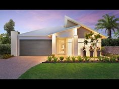 McDonald Jones Homes offers house designs for any lifestyle or life stage. Browse Australian homes to feel carefree every time you walk through the doors. New Home Designs, Cool House Designs, Mcdonald Jones Homes, Brighton Houses, Mid Century Exterior, House Elevation, Front Elevation, Display Homes, Australian Homes