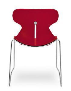 Desiro DOT stacking chair by Koehl Seating