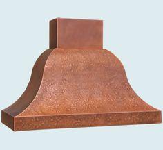 Copper Range Hood # 5375