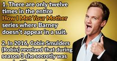 """Here are a few facts about """"How I Met Your Mother"""" How I Met Your Mother, Best Mother, Mother Meme, Mother Quotes, Ted Mosby, Mothers Friend, Bad Humor, Himym, I Meet You"""