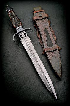 """Dagger 13""""   CAS Knives - cuchillos artesanales"""