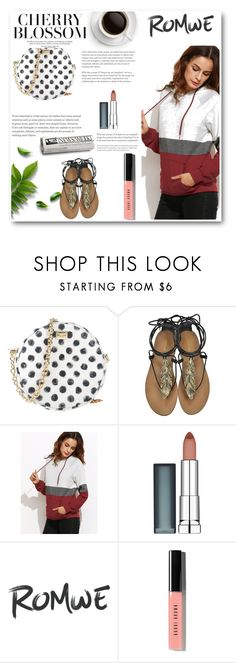 """""""contest"""" by bage ❤ liked on Polyvore featuring Dolce&Gabbana, Roberto Cavalli, Maybelline and Bobbi Brown Cosmetics"""