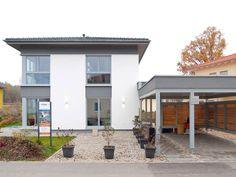 Moderne Stadtvilla - weitere Informationen unter www.baumeinhaus.ch/hausfinder