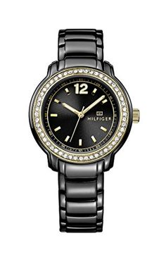0dfcfc2963d57f Tommy Hilfiger Women s 1781495 Black Stainless-Steel Quartz Watch    Click  on the image