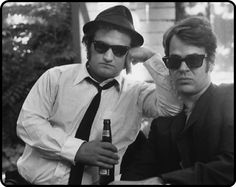 The Blues Brothers - They'll never get caught, they're on a mission from God.