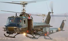 A ride with the Air Cavalry in a Bell UH1 Huey helicopter gun ship