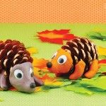 Hedgehog Corner Bookmark – Origami for Kids