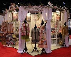 Craft+Booth+Display+Ideas | Gorgeous show display | great craft booth ideas