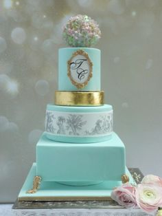Josephine Wedding Cake - Cake by Scrummy Mummy's Cakes