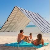 Sombrilla beach shelter in hello sailor. Christmas in #htfstyle
