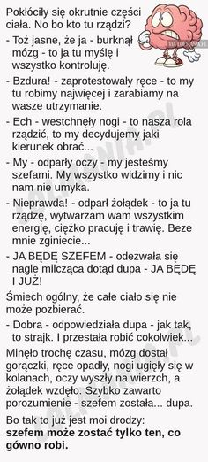Sorry za słowa, ale to jest takie szczere. Weekend Humor, Funny Mems, Text Memes, Love Text, Wtf Funny, Man Humor, Motto, Quotations, Texts