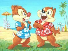 ♥ Chip & Dale ♥
