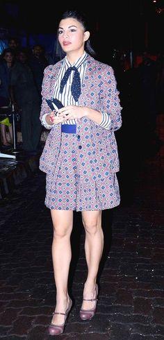 Jacqueline Fernandez outside a suburban nightspot #Bollywood #Fashion #Style