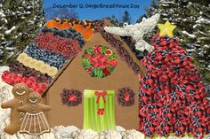 December 12, Gingerbread House Day   with a Healthier Look