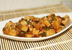 Tofu v pomarančovej omáčke (fotorecept) - Recept