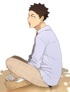 Haikyuu Iwaizumi, Nishinoya Yuu, Iwaoi, Haikyuu Fanart, Haikyuu Anime, Haikyuu Volleyball, Volleyball Anime, Akaashi Keiji, Fandom